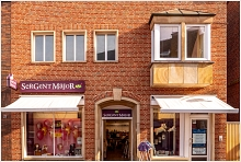 Sergent Major in Meppen